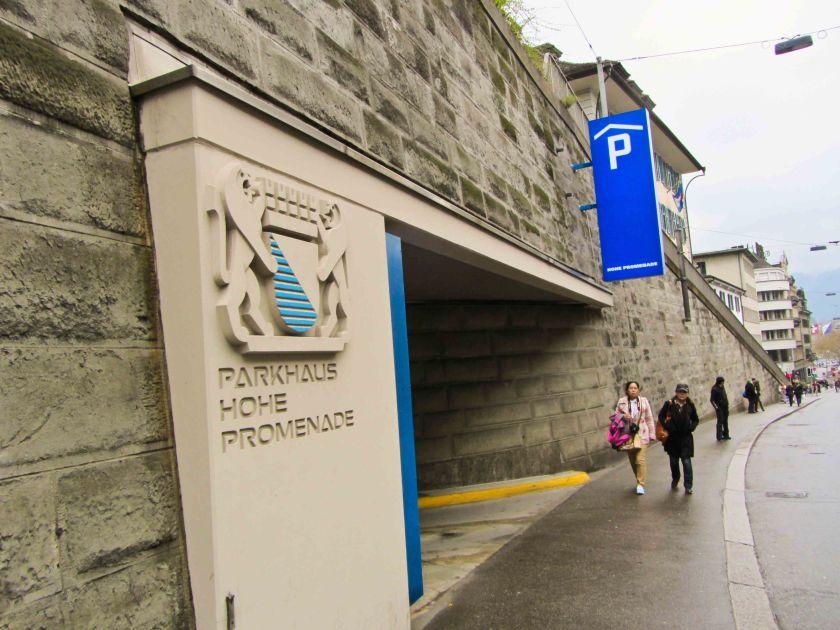 Парковка с возможностью проезда в городском транспорте